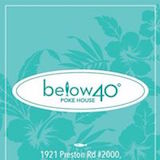 Below 40 Poke House (Dallas) Logo