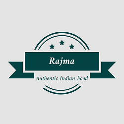 Rajma authentic Indian grill Logo