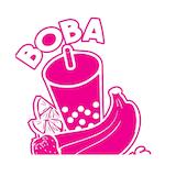 Boba Smoothies Logo