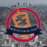 Giant Gyros Mediterranean Food Logo