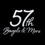 57th Bagels and More Logo