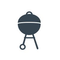 AlJoom's BBQ Logo