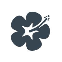 Twin Fin Poke Logo