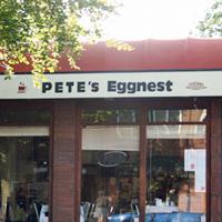 Pete's Egg Nest Logo