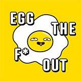 Egg the F* Out Logo