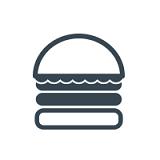 Monty's Good Burger (3605 Market St) Logo