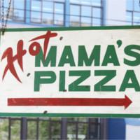 Hot Mama's Pizza Logo