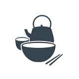 Gold garden seafood restaurant Logo