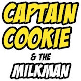 Captain Cookie & the Milk Man Logo