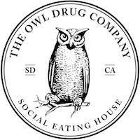 The Owl Drug Co. Social Eating House Logo