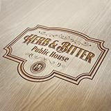 Herb & Bitter Public House Restaurant Logo