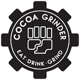 Cocoa Grinder - Crown Heights Logo