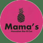 Mama's Hawaiian Bar-B-Cue - Roger Location Logo