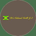 D's Island Grill, JA. Logo