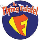 The Flying Falafel - Berkeley Logo