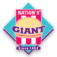 Nation's Giant Hamburgers & Great Pies Logo