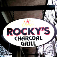 Rocky's Charcoals Grill Logo