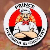 Prince pizzeria and grocery Logo