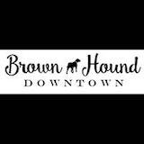 Brown Hound Downtown Logo