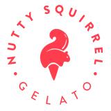 Nutty Squirrel Gelato Logo
