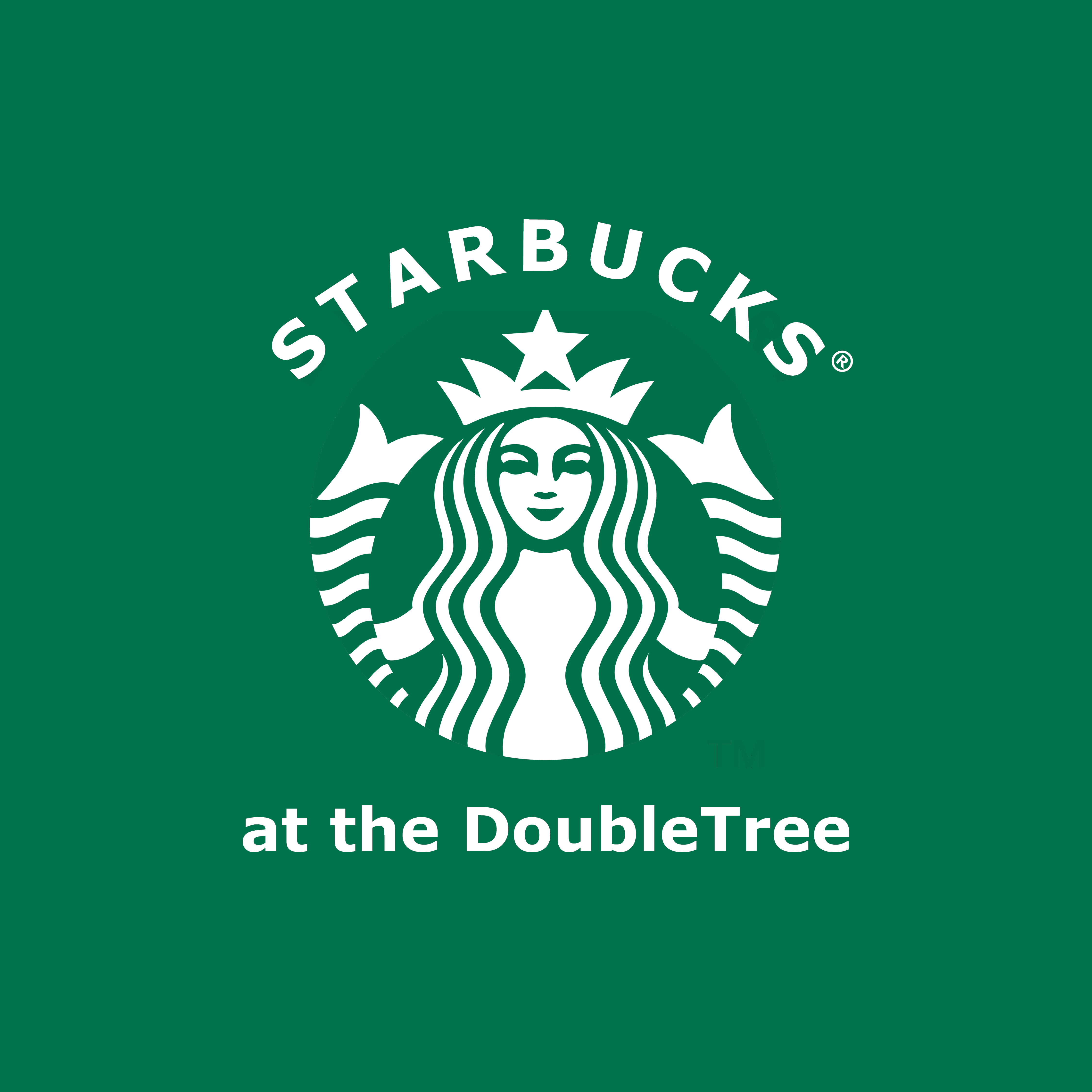 Starbucks at the DoubleTree Logo