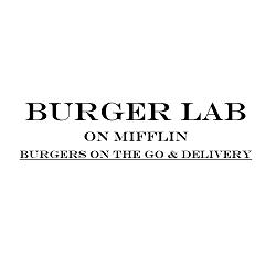 Burger Lab on Mifflin Logo