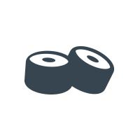 Sushi Take Out Enjoy Logo