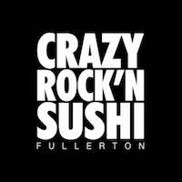Crazy Rock'N Sushi - Fullerton Logo
