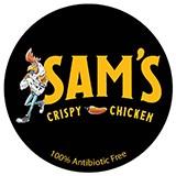 Sam's Crispy Chicken - Anaheim Logo