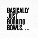 Basically Just Burrito Bowls Logo