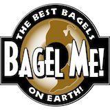 Bagel Me! (Orange Circle) Logo