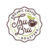 Tru Bru Organic Coffee Logo