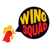 Wing Squad - Huntington Beach Logo