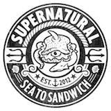 Supernatural Seafood Sandwiches Logo