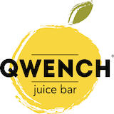 DRNK Coffee + Tea/QWENCH Juice Bar - The Bluffs Logo