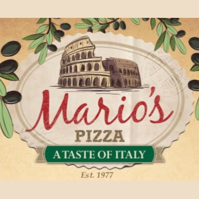 Mario's Pizza Taste of Italy Logo