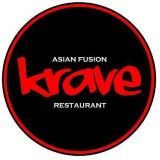 Krave Asian Fusion Restaurant Logo