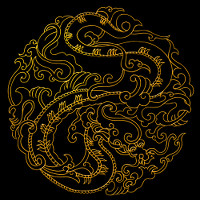 Golden Dragon Logo