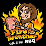 Fire Breather BBQ Logo