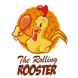 The Rolling Rooster Logo