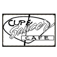 Cup and Saucer Cafe Logo