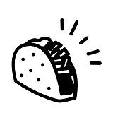 """Taqueria """"Los Gallos"""" Logo"""