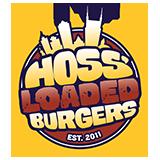 Hoss' Loaded Burgers Logo
