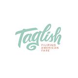 Taglish Filipino American Fare Logo