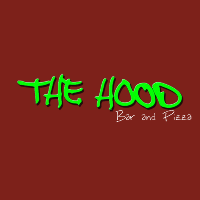 The Hood Bar & Pizza Logo