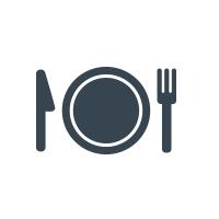 Los Potrillos Food Truck Logo