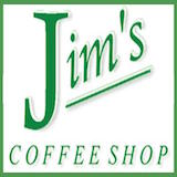 Jim's Coffee Shop Logo