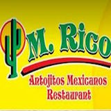 M Rico Antojitos Mexican Logo