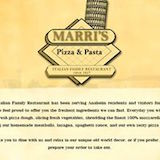 Marri's Pizza & Italian Restaurants Logo