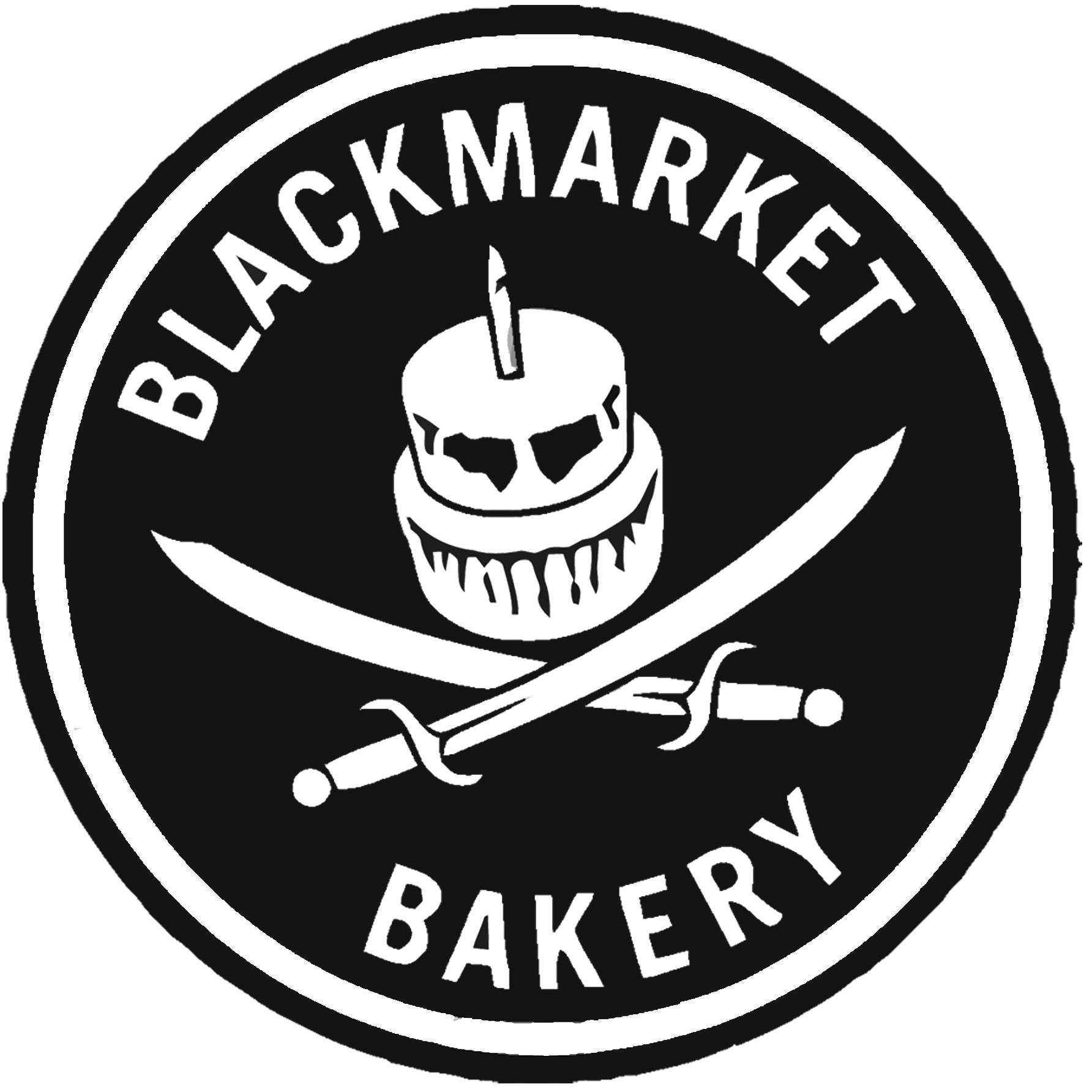 Blackmarket Bakery Costa Mesa Logo